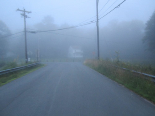 throw in the mist with the 50° and it was cold, later in the day it will be over 90°