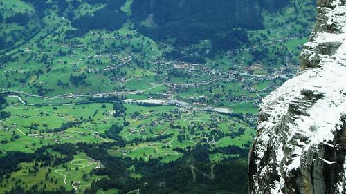 Panorámica desde la Estación de Eigergletscher