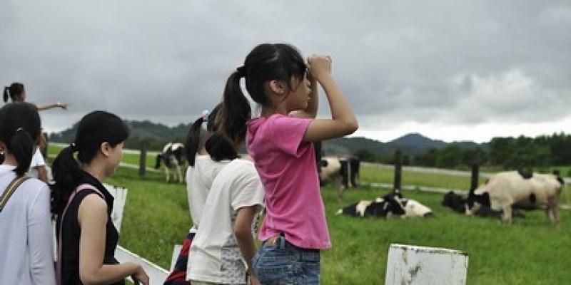和小晴晴表妹去初鹿餵牛牛吃草(6.11ys)