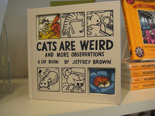 Cats Are Weird book