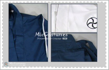 Bleach Shinigami Academy Uniform Cosplay Costume detail