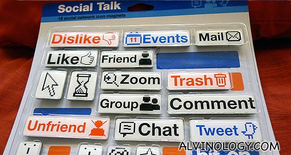 Social Media Magnets