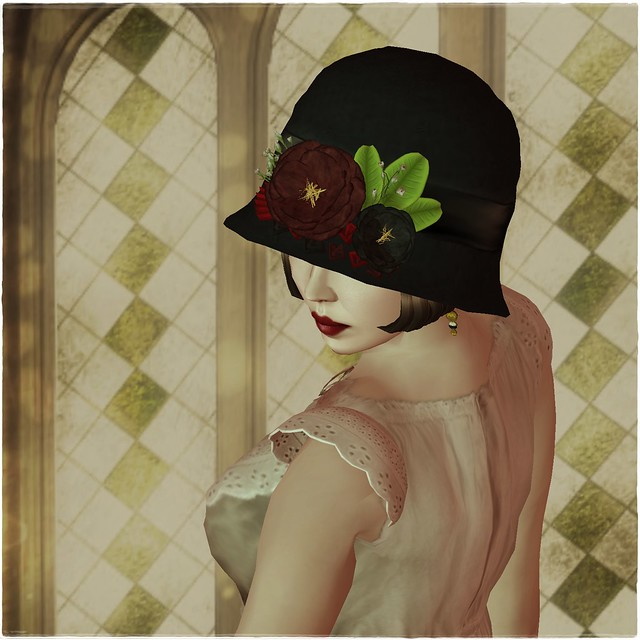 Hatpins - Louisa Cloche Hat