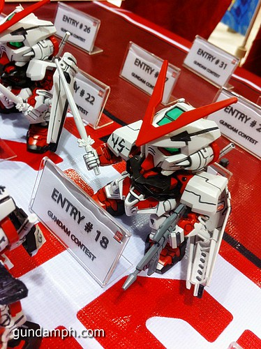 Free SD Astray Red Frame at TK Gundam Detailing Contest Caravan (16)