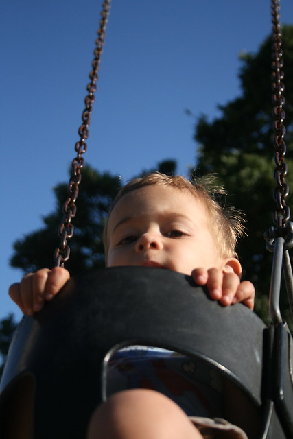 Paul at the park