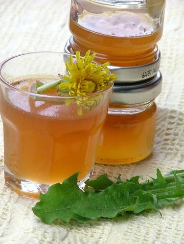 sciroppo di tarasacco - Dandelion syrup