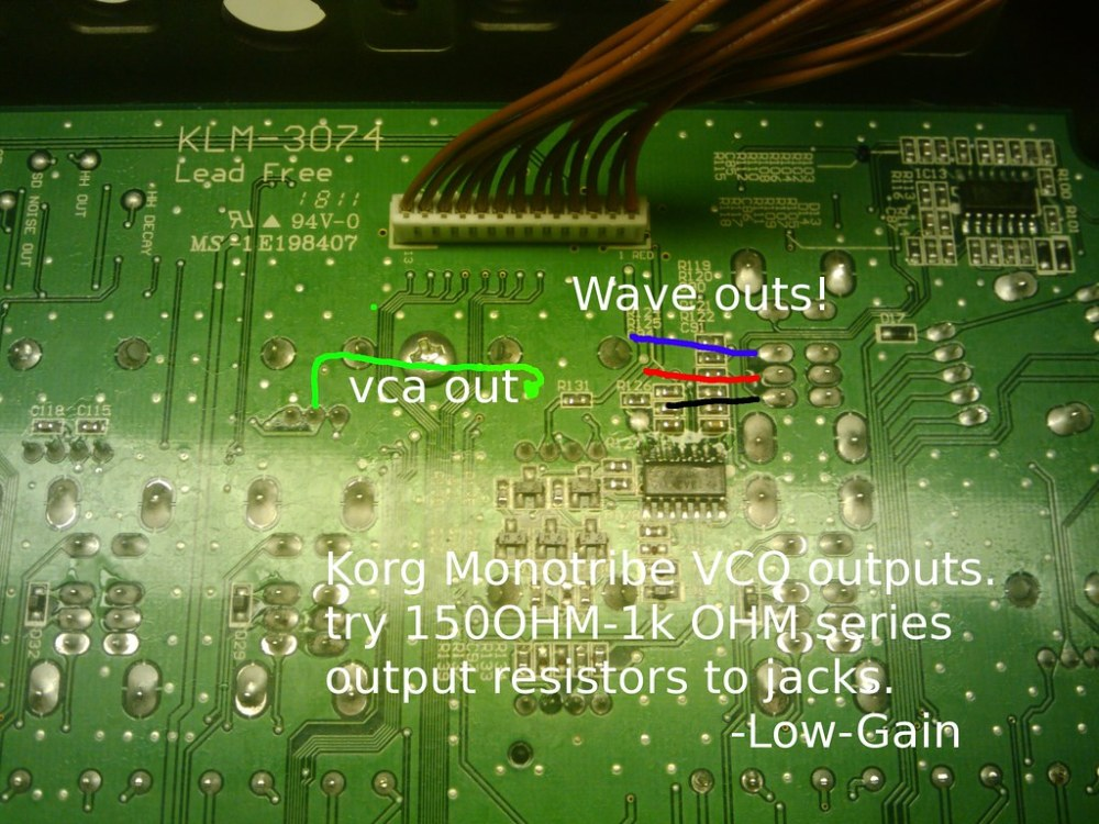 medium resolution of  about doing this can you confirm where the vco wave selector points are i borrowed a picture from an earlier post uploaded by low gain which should