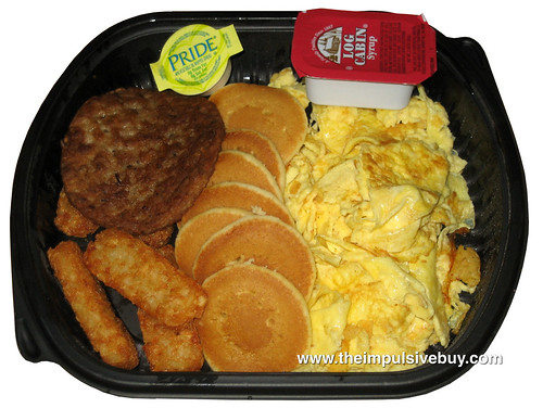 Jack in the Box Jumbo Breakfast Platter