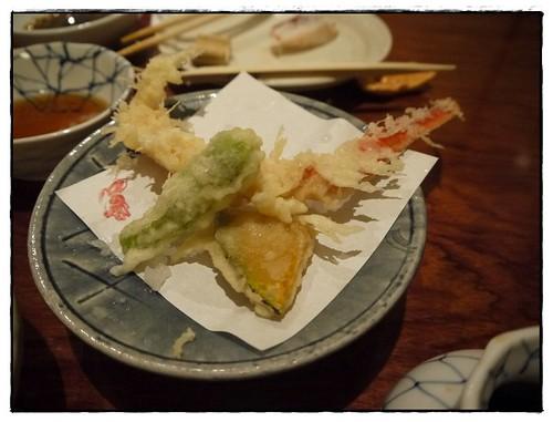 Crab Leg tempura