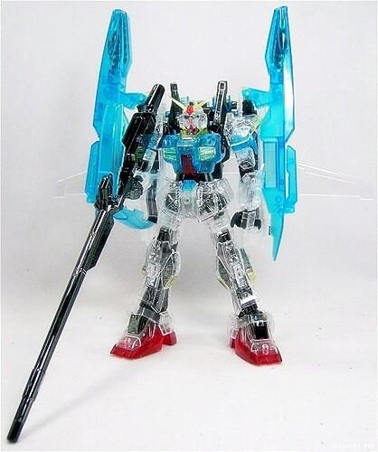 MG2000 {Clear-Limited} - RX-178 Super Gundam + G-Defenser (1)