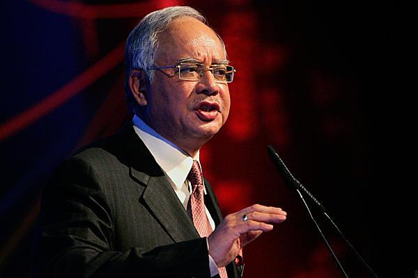 Najib Razak (picture via Christian Science Monitor)