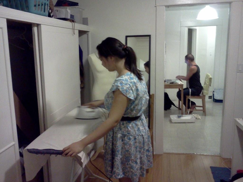 Minions hard at work, workshop