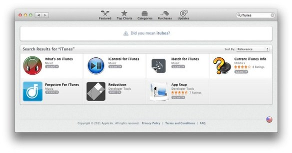 iTunes is Missing from the Mac App Store