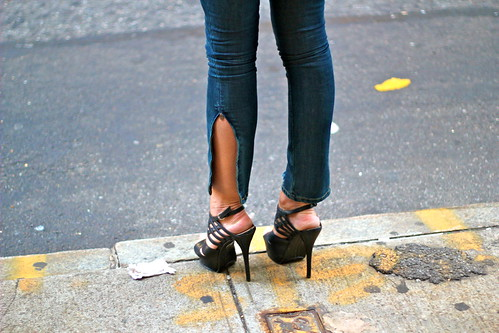 Stilettos in Soho by helenlikesyou