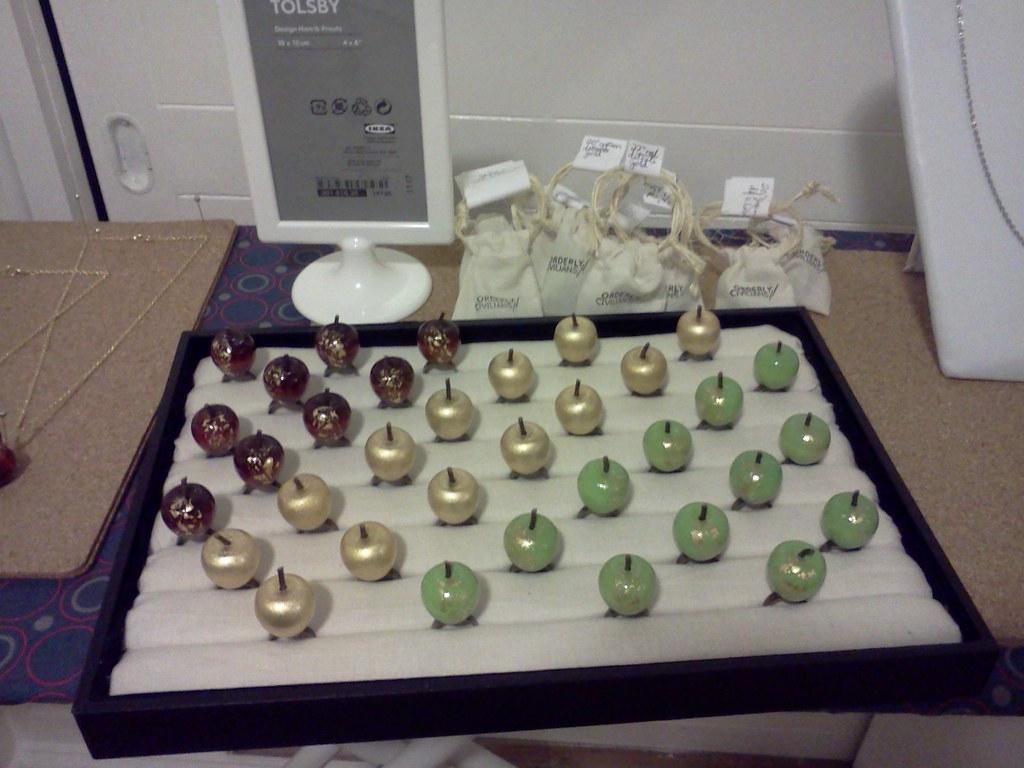 Apple rings display