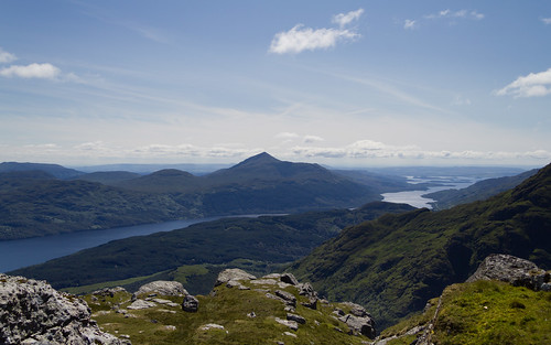 Ben Lomond from Ben Vane