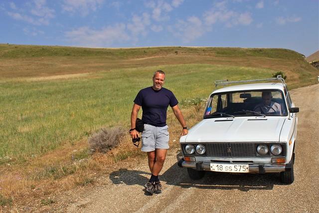 La Lada qui nous a conduit, Vayots Dzor, Arménie