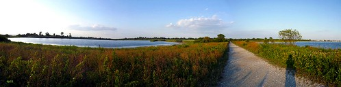 panoramic jamaica bay by dppuchol