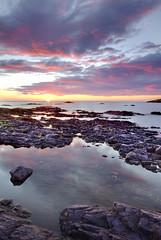 Silver Bay at sunrise