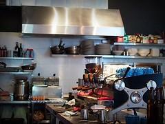 The Slayer espresso machine, Jimmy Monkey Café & Bar, One-North Residences