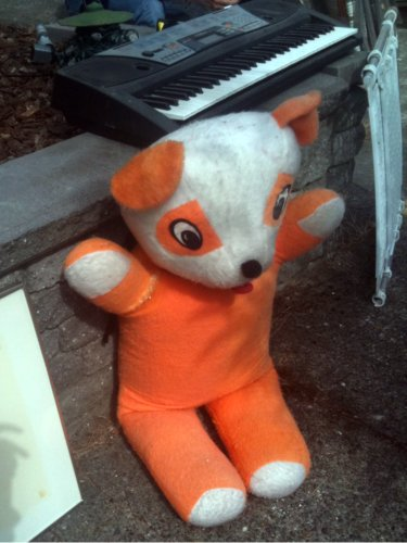 Orange panda
