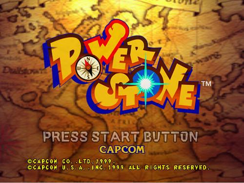 Power Stone - start screen