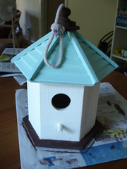 Bird house, beach style!