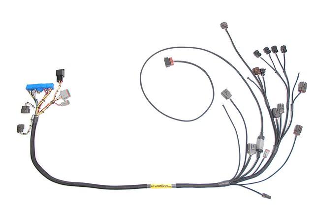 Chase Bays S13 SR20DET and S13 KA24DE Engine Harnesses