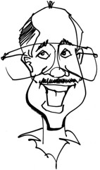 Ron Castro Caricature