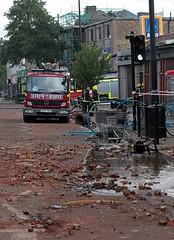 London fire brigade Tottenham