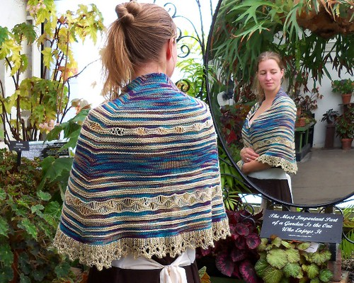 drapped shawl