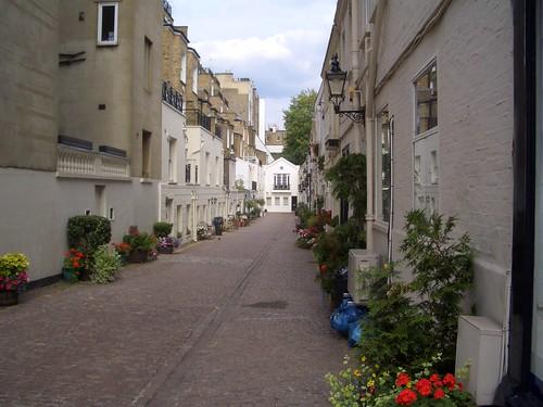 Cute Little Street in Kensington