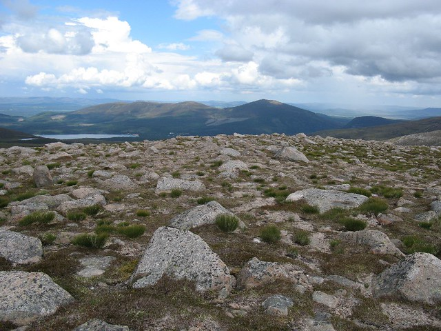 View down to Loch Morlich
