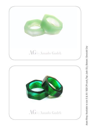 Amado Gudek At Dulcetfig - Honeycomb Ring