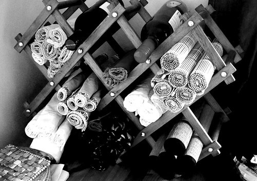 Re-Purposed Wine Rack