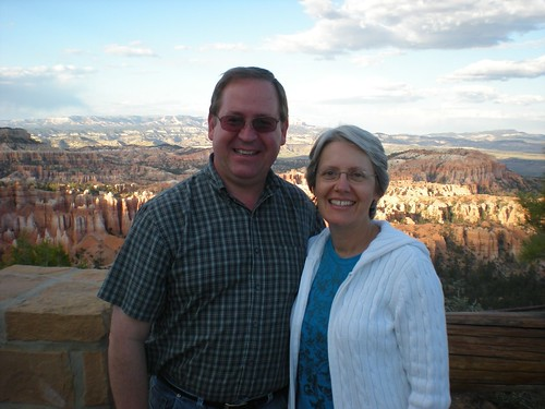 Candace and I at Bryce Canyon, June 2011