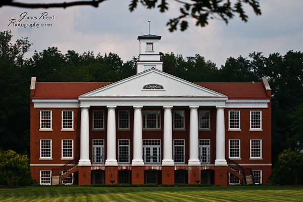 The newest building on the campus of the nearly 200 year old boarding school.