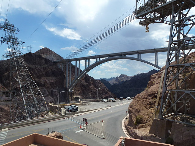 Hoover Dam By-Pass: Mike O'Callaghan - Pat Tillman Memorial Bridge from http://www.TipsForTravellers.com