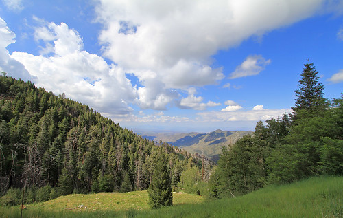 View east from Mt Lemmon by SearchNetMedia