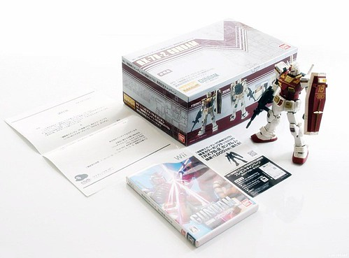 MG RX-78 Wii Nintendo Limited 1000 box