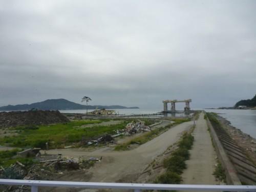 希望の一本松, 陸前高田で被災地ボランティア Rikuzentakata, Iwate pref. Deeply affected area by Huge Tsunami