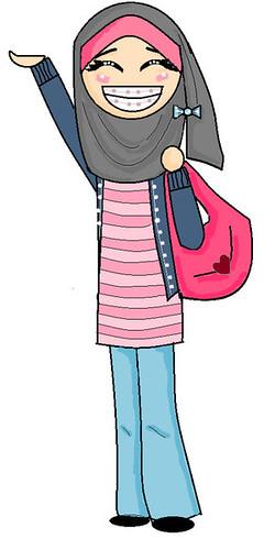 pinky jilbaber by ayuparamita