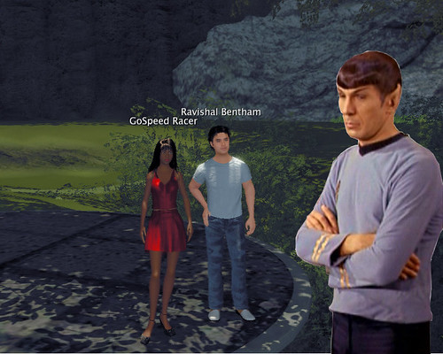 Spock is not impressed by Blue Mars