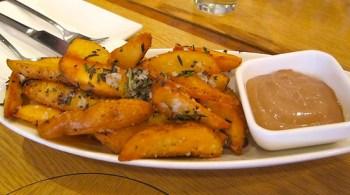 Rosemary & Sea Salt potato wedges