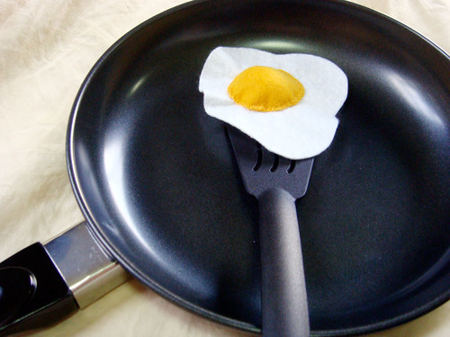Felt Food - Eggy!