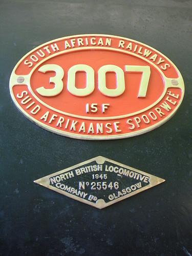 """""""Suid Afrikaanse Spoorwee"""""""