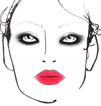 Moncler Gamme Rouge Makeup
