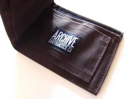 Wallet - Chocolate by Archive Victor