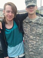 071711 Zack and Ben Fort Lewis