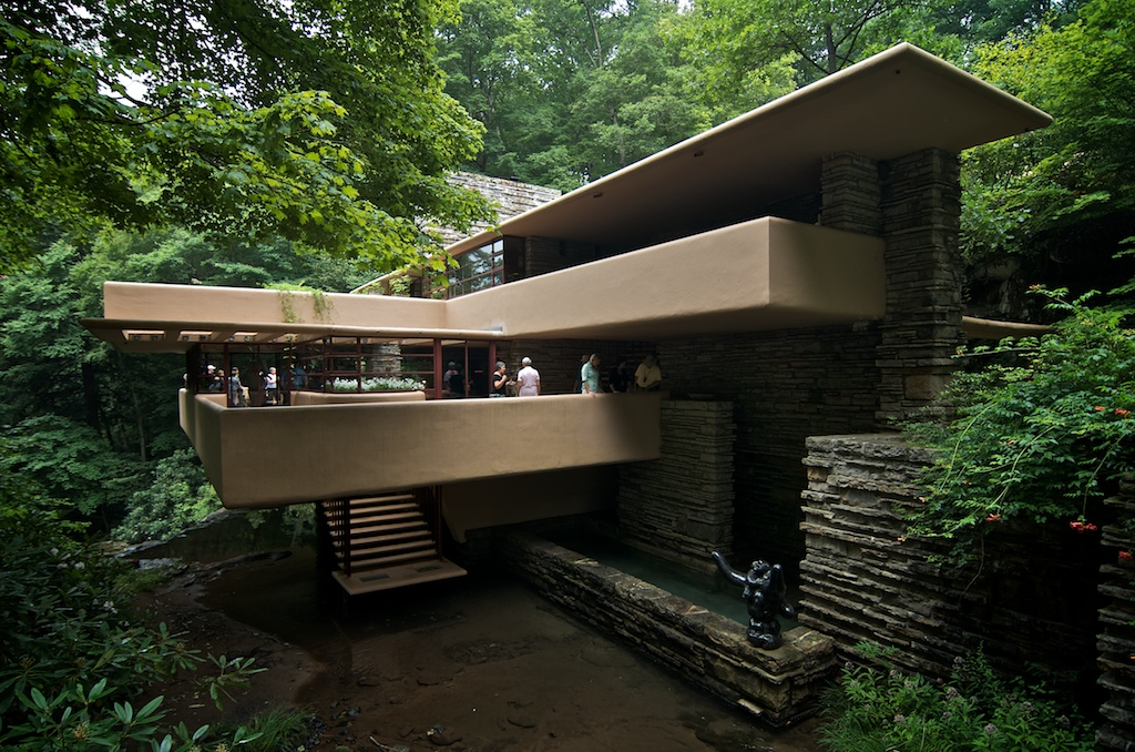 Falling Water House Wallpaper Tour Of Frank Lloyd Wright S Fallingwater